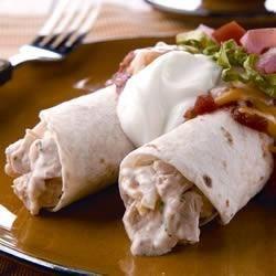 Photo of Creamy Chicken and Sour Cream Enchiladas by KNUDSEN