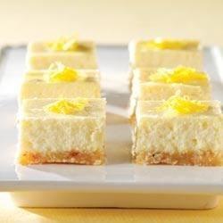 PHILADELPHIA 3-STEP Lemon Cheesecake Bars Recipe