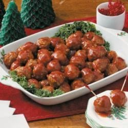 Photo of Honey-Garlic Glazed Meatballs by Marion  Foster