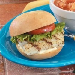 Photo of Grilled Fish Sandwiches by Violet  Beard
