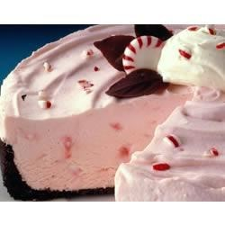 Photo of Frozen Peppermint Cheesecake by EAGLE BRAND®