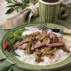 Photo of Chinese Pepper Steak by Shirley Claggett