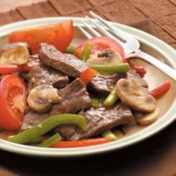 Photo of Mushroom Pepper Steak by Billie  Moss