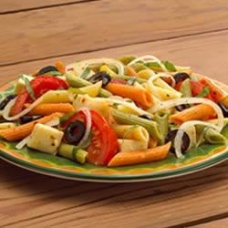 Photo of Marinated Mediterranean Salad by Ronzoni Garden Delight® Pasta