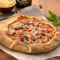 Photo of Rustic Tomato Basil Tart by Sargento
