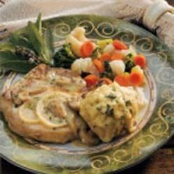 Photo of Herb Dumplings with Pork Chops by Cheryl  Onken