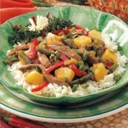Photo of Pineapple Beef Stir-Fry by Helen  Vail