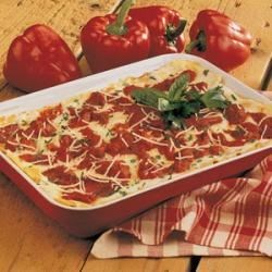 Photo of Roasted Red Pepper Lasagna by Deborah  Johnson