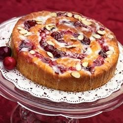 Smucker's(R) Cherry Swirl Coffee Cake Recipe