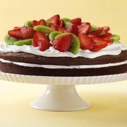 Easy Brownie Shortcake Dessert