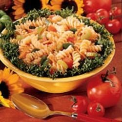 Photo of Spiral Pasta Salad by Darlene  Kileel