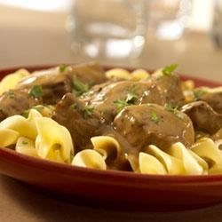 One-Dish Beef Stroganoff and Noodles Recipe