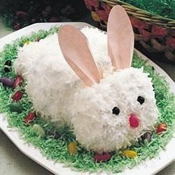 Betty Crocker's Easter Bunny Cake Recipe