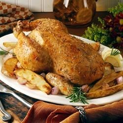Rosemary Garlic Chicken and Crisp Roasted Potatoes Recipe