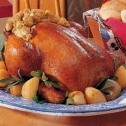 Photo of Roasted Chicken and Potatoes by Sandra  Melnychenko