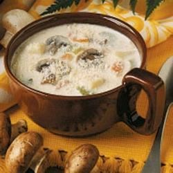 Photo of Mushroom and Potato Chowder by Romaine Wetzel