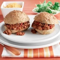 BUSH'S® Mini Turkey Sloppy Joes