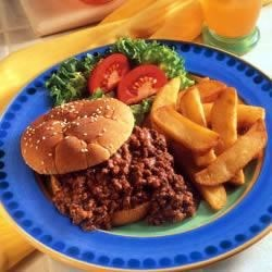 Campbell's Kitchen Souper Sloppy Joes Recipe