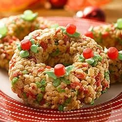 Photo of KELLOGG'S* RICE KRISPIES* Wreaths by KELLOGG'S* RICE KRISPIES*