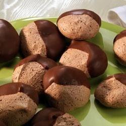 Orange-Chocolate-Coconut Macaroons