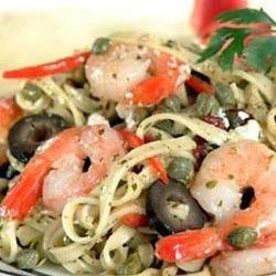 Mediterranean Shrimp Pasta Recipe