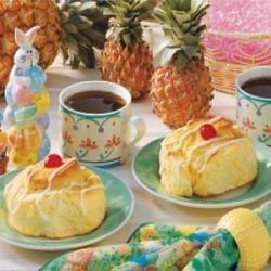 Photo of Jumbo Pineapple Yeast Rolls by Pat  Walter