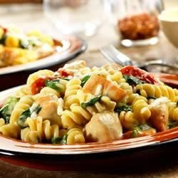 Photo of Chicken Fusilli with Spinach and Asiago Cheese by Campbell's Kitchen