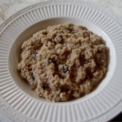 Hot Breakfast Couscous Recipe
