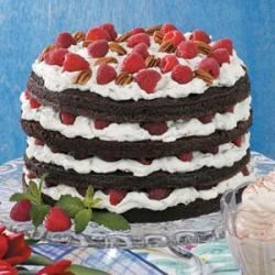 Photo of Raspberry Chocolate Torte by Janis  Murphy