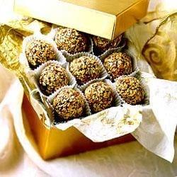 Toasted Almond Truffles Recipe