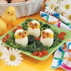 Photo of Cute Egg Chicks by Taste of Home Test Kitchen