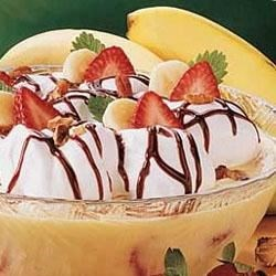 Photo of Banana Split Pudding by Taste of Home's Fast Family Favorites