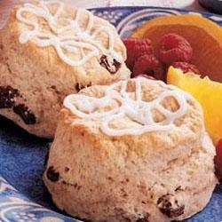 Photo of Iced Cinnamon Biscuits by Taste of Home's Fast Family Favorites