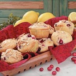 Photo of Lemon Cranberry Muffins by Noelle  Miles Griggs