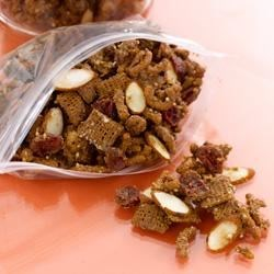 Heart-y Antioxidant Almond Snack Mix Recipe