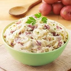 Becel® Garlic and Parsley Mashed Potatoes