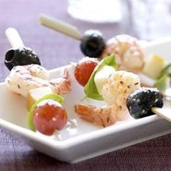 Tangy Shrimp Appetizer Skewers Recipe