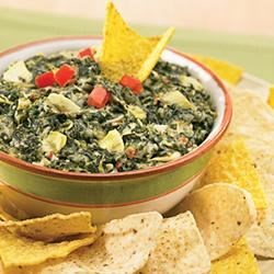 Six Cheese Italian Spinach Artichoke Dip Recipe