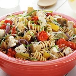 Photo of Roasted Eggplant and Pasta Caprese by Reynolds®