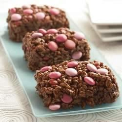 Double Chocolate Crispy Treats