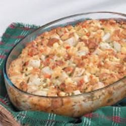 Photo of Hearty Chicken Strata by Sara  Yoder