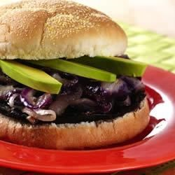 Photo of Grilled Portabellas with Caramelized Onions and Avocados by Chileanavocados.org