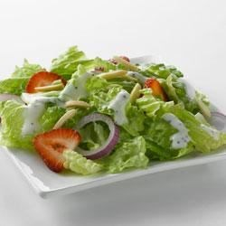 Strawberry Romaine Salad and Creamy Poppy Seed Dressing with Truvia(R) Natural Sweetener Recipe