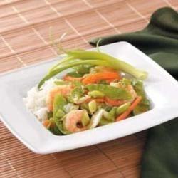 Photo of Sassy Shrimp Stir-Fry by Taste of Home Test Kitchen