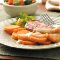 Photo of Pork Chops with Sweet Potato by Jean Nieman