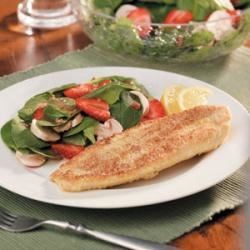 Photo of Cornmeal-Crusted Catfish by Taste of Home Test Kitchen