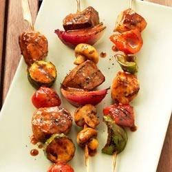 Mediterranean Pork Kebabs Recipe