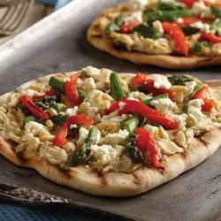 Mediterranean Grilled Pizza Recipe