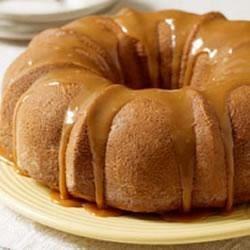 Moist Caramel Apple Cake by JELL-O Recipe