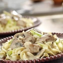 Swiss-Style Veal and Mushrooms Recipe